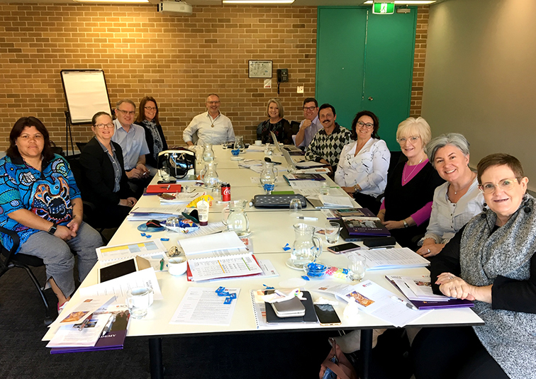 CSPA Council with Prof Br David Hall FMS - 24 August 2019 Sydney